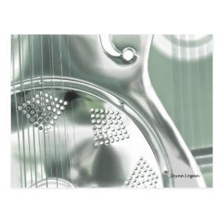 DOBRO, arte de la guitarra, postal fresca