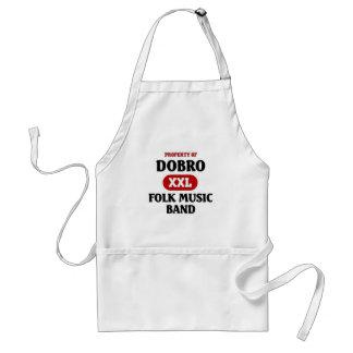 Dobro Folk Music band Apron