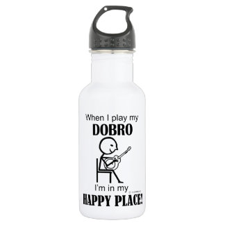 Dobro Happy Place Stainless Steel Water Bottle