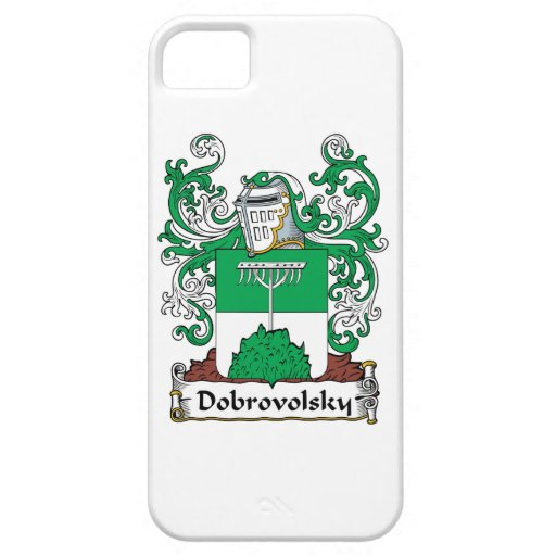 Dobrovolsky Family Crest iPhone 5 Cases