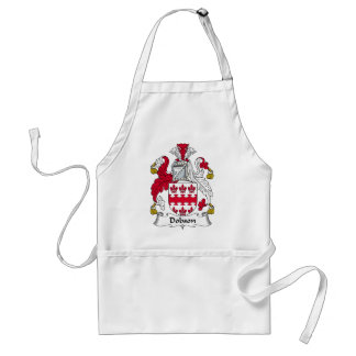 Dobson Family Crest Adult Apron