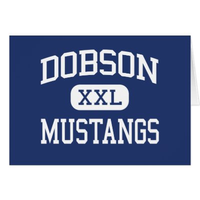 Show your support for the Dobson High School Mustangs while looking sharp.