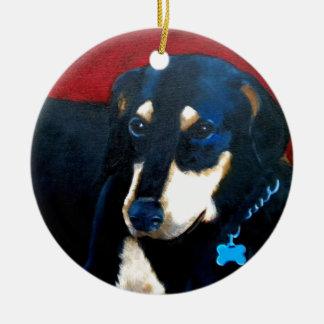Doby Ceramic Ornament