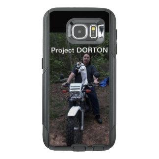 Doby on a bike OtterBox samsung galaxy s6 case