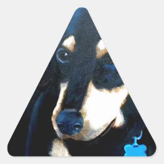 Doby Triangle Sticker
