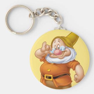 Doc 4 basic round button keychain