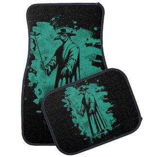Doc beak - Plague doctor - bleached green Car Floor Mat