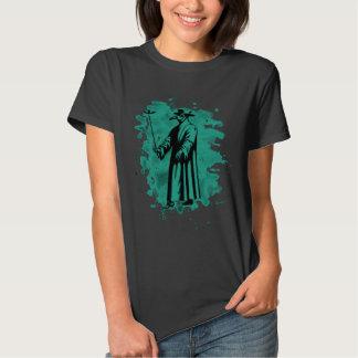 Doc beak - Plague doctor - bleached green T-Shirt