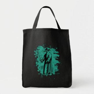 Doc beak - Plague doctor - bleached green Tote Bag