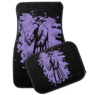 Doc beak - Plague doctor - bleached violet Car Mat