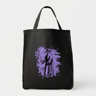 Doc beak - Plague doctor - bleached violet Tote Bag