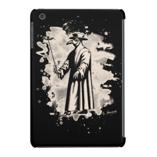 Doc beak - Plague doctor - bleached white iPad Mini Cover