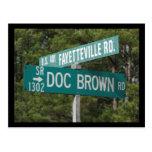 Doc. Brown Rd Postales