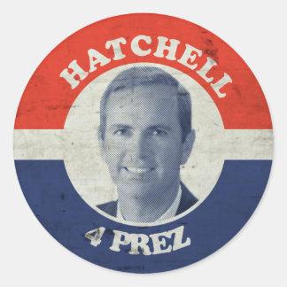 Doc Hatch 5 Lyfe Classic Round Sticker