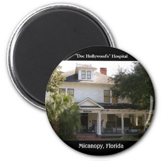 """""""Doc Hollywood"""" Hospital location 2 Inch Round Magnet"""