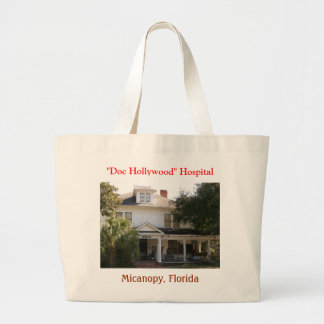 """Doc Hollywood"" Hospital location Large Tote Bag"