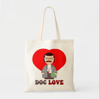 doc love,doctor, budget tote bag