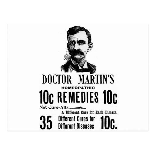 Doc. Martins Tarjeta Postal