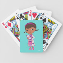 Doc McStuffins | All Part of my Job Bicycle Playing Cards