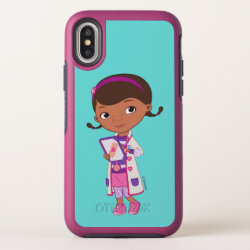 Doc McStuffins | All Part of my Job OtterBox Symmetry iPhone X Case
