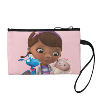 Doc McStuffins and Her Animal Friends Change Purse