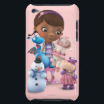 "Doc McStuffins and Her Animal Friends Barely There iPod Case<br><div class=""desc"">Doc McStuffins and Her Animal Friends</div>"