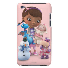 Doc Mcstuffins And Her Animal Friends Barely There Ipod Case at Zazzle