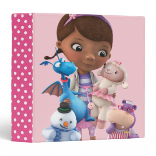 Doc McStuffins and Her Animal Friends Binders