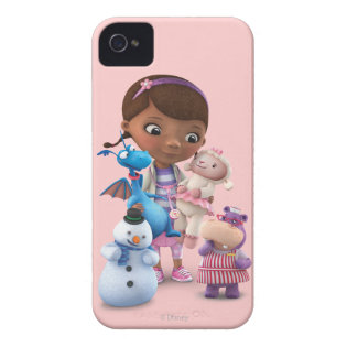 Doc McStuffins and Her Animal Friends Case-Mate iPhone 4 Case