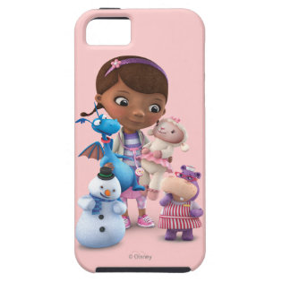 Doc McStuffins and Her Animal Friends iPhone 5 Case