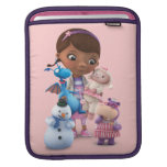 Doc McStuffins and Her Animal Friends iPad Sleeves