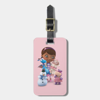 Doc McStuffins and Her Animal Friends Bag Tag
