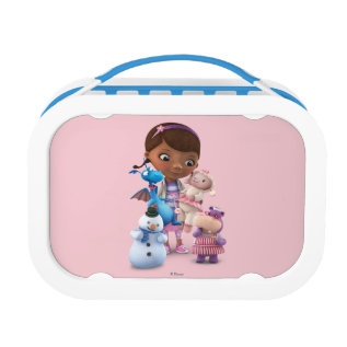 Doc McStuffins and Her Animal Friends Lunch Box at Zazzle
