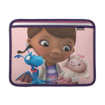 Doc McStuffins and Her Animal Friends MacBook Sleeve