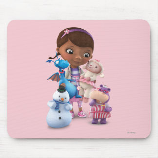 Doc McStuffins and Her Animal Friends Mouse Pad