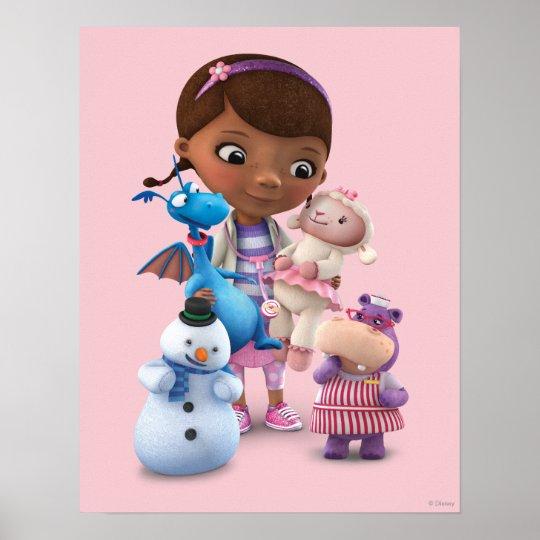 Doc McStuffins Bedding For the Cool Kids |Doc Mcstuffins Poster