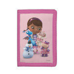 Doc McStuffins and Her Animal Friends Tri-fold Wallet