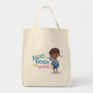 Doc McStuffins and Stuffy - Boo Boos Be Gone 2 Grocery Tote Bag