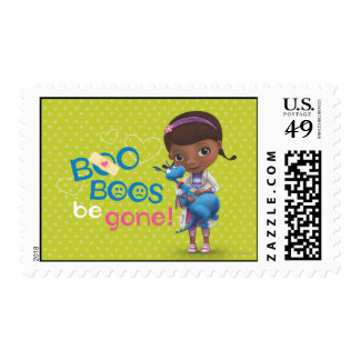 Doc McStuffins and Stuffy - Boo Boos Be Gone Postage
