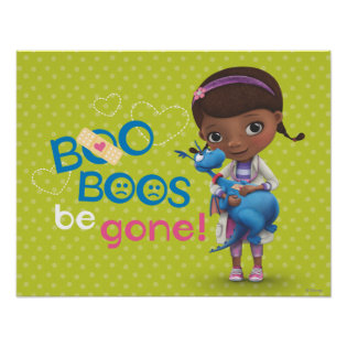 Doc McStuffins and Stuffy - Boo Boos Be Gone Posters