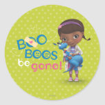 Doc McStuffins and Stuffy - Boo Boos Be Gone Round Stickers