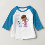Doc McStuffins | Doc And Chilly Playing In Snow Baby T-Shirt