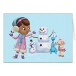 Doc McStuffins | Doc McStuffins Playing In Snow Card