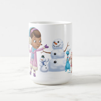 Doc McStuffins | Doc McStuffins Playing In Snow Coffee Mug