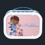 """Doc McStuffins &amp; Her Animal Friends - Personalized Lunch Box<br><div class=""""desc"""">Doc McStuffins</div>"""