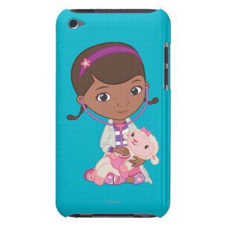 Doc McStuffins Holding Lambie Barely There iPod Cover