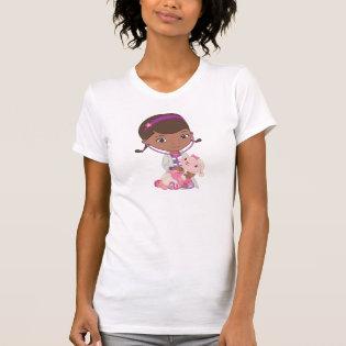 Doc McStuffins Holding Lambie Shirt