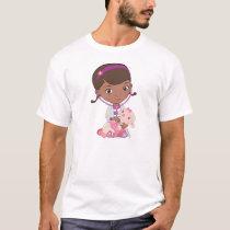 Doc McStuffins Holding Lambie T-Shirt