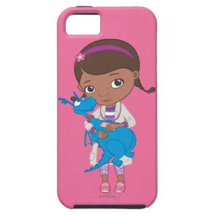 Doc McStuffins Holding  Stuffy iPhone 5 Cover