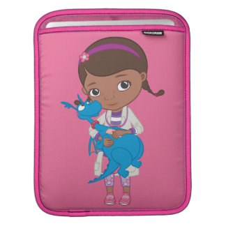 Doc McStuffins Holding  Stuffy Sleeve For iPads